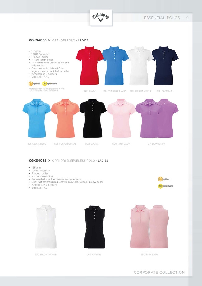 Opti-Dri Sleeveless Polo
