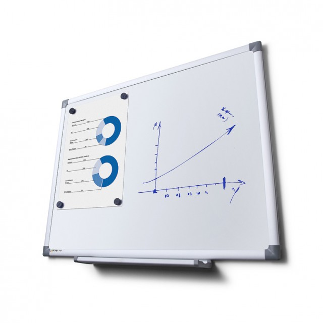 Popisovatelná magnetická tabule SCRITTO® 1200×900 mm