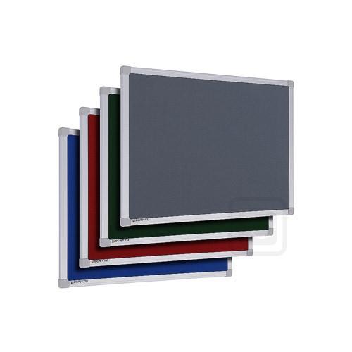 Filcová tabule SCRITTO® 1200×900 mm (červená)