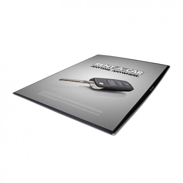 DeskWindo plakátový systém A4/210x297 mm - ze strany výměnná grafika