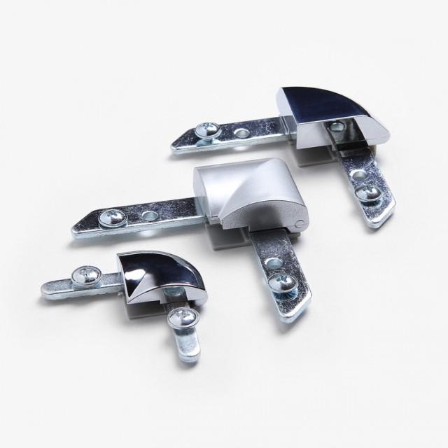 Náhradní roh pro klaprám s oblým rohem - 1ks Oblý spoj pro profil 32 mm