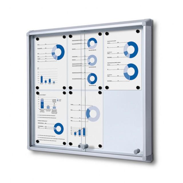 Vitrína typu SL - Skleněné posuvné dveře