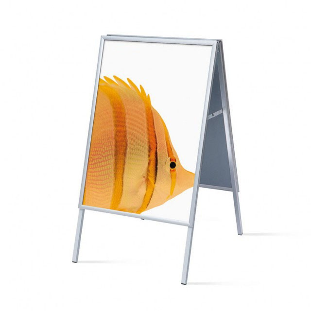 Interiérový A stojan s profilem 20 mm