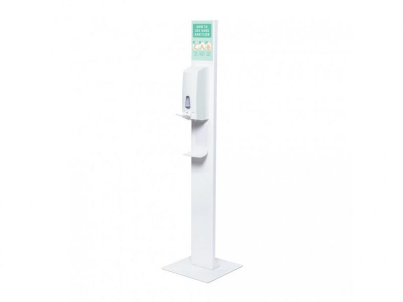 Designový stojan na dezinfekci s dávkovačem