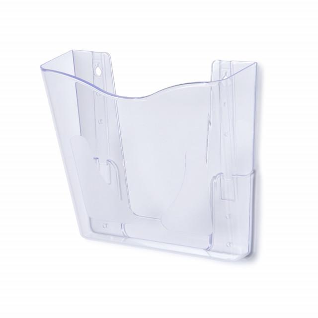 SCRITTO® nástěnný stojánek na letáky, 1 kapsa Formát A5, pro přidělání na zeď
