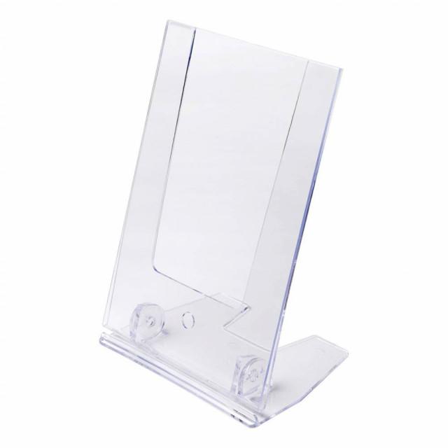 Nastavitelný plastový stojánek tvaru L economy - jednostranný