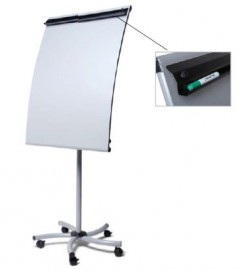 SCRITTO® Flipchart Curved