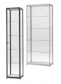 Skleněná produktová vitrína 400 mm / 500 mm / 800 mm