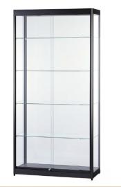Skleněná produktová vitrína osvětlená 1000 mm