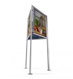 Trojboký stojan Triboard