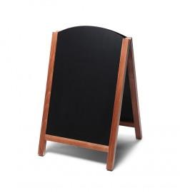 JD NATURA Dřevěný křídový A stojan s vysouvacími deskami