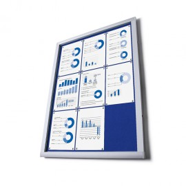 Informační vitrína typu O - Filcová