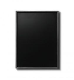 Křídová tabule s černým rámem z bukového dřeva
