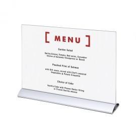 Elegantní menu stojánek na letáky formátu DL (1/3A4)