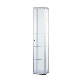 Vitríny - Produktová skříň 400, 500 a 800 mm - OBLÝ PROFIL 24mm