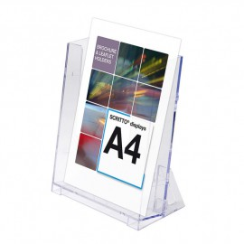 SCRITTO nástěnný stojánek na letáky formátu A4
