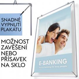 Vypínací plakátový rám Posterstretch