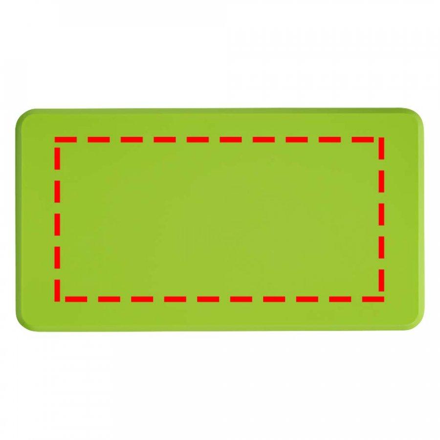 Digital sticker, top, 100x50 mm, max. počet barev: 20