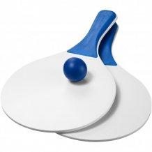 Plážová míčová hra Matira, bílá/modrá