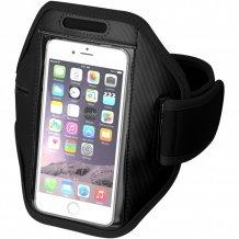 Pažní páska Gofax s dotekovou folií pro chytrý telefon, černá