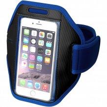 Pažní páska Gofax s dotekovou folií pro chytrý telefon, modrá