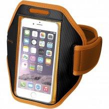 Pažní páska Gofax s dotekovou folií pro chytrý telefon, oranžová