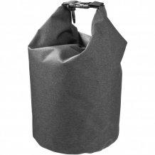 Nepromokavý vak Traveller, 5 l, outdoorový styl, směsný materiál, šedá