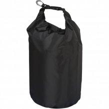 Nepromokavý vak Camper, 10 l, outdoorový styl, černá