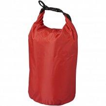 Nepromokavý vak Camper, 10 l, outdoorový styl, červená