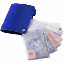 Pouzdro na karty Valencia, modrá
