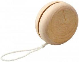 Dřevěné jojo Woodpecker, bílá