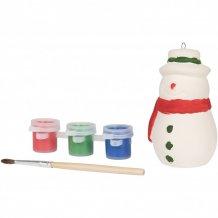 Malovací sněhulák, bílá
