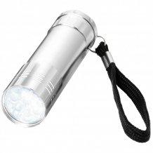 Svítilna Leonis s 9 LED, šedá