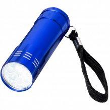 Svítilna Leonis s 9 LED, modrá