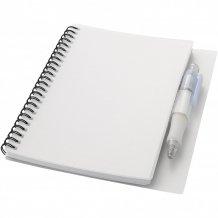 Zápisník Hyatt s perem, bílá
