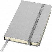 Kapesní poznámkový blok Classic A6 s pevnou obálkou, šedá