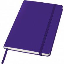 Poznámkový blok Classic A5 s pevnou obálkou, purpurová