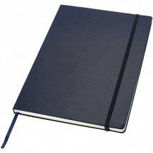 Poznámkový blok s pevnou obálkou A4 Executive, modrá