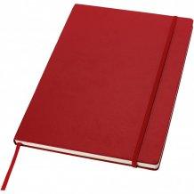 Poznámkový blok s pevnou obálkou A4 Executive, červená