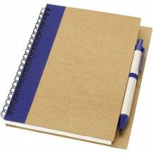 Recyklovaný zápisník s perem Priestly, bílá