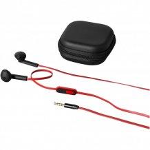 Sluchátka Fusion, černá/červená