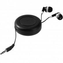 Samonavíjecí sluchátka Reely, černá