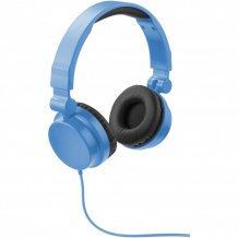 Skládací sluchátka Rally, modrá