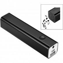 Reproduktor s powerbankou Bran Bluetooth®, černá