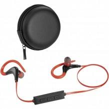 Sluchátka Bluetooth® Buzz, černá/červená