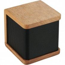 Dřevěný reproduktor Seneca Bluetooth®, hnědá