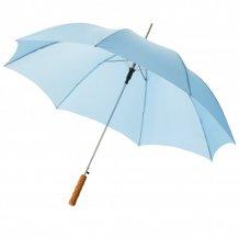 """23"""" deštník Lisa s automatickým otvíráním a dřevěnou rukojetí, modrá"""