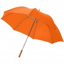 """30"""" golfový deštník Karl s dřevěnou rukojetí, oranžová"""