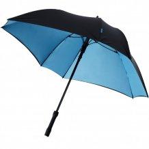 """Automatický dvouvrstvý deštník Square 23"""", modrá/černá"""