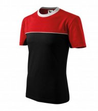 Colormix tričko unisex, černá